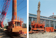 Urban Subway Hydraulic Drilling Casing Rotator