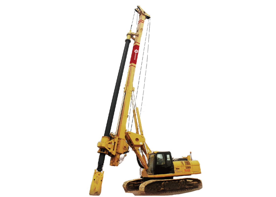 Rotary Drilling Rigs TR180D ; Max Hole Diameter 1800mm ; Max drilling depth 60m ; Engine model CAT C - 7 ;